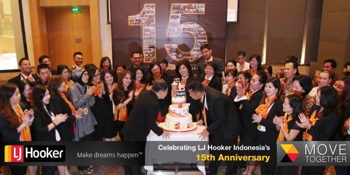 LJ Hooker Indonesia's 15th Anniversary