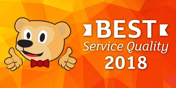 Best Service Quality 2018