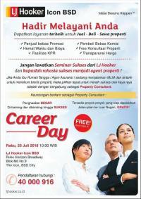 Career Day @ LJ Hooker Icon BSD