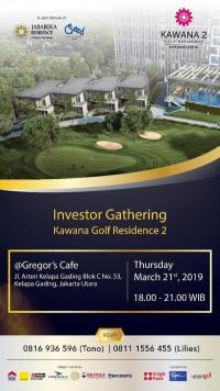 Investor Gathering Kawana Golf Residence 2