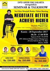 Seminar & Talkshow DPD AREBI DKI Jakarta