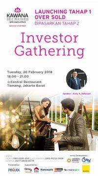 Investor Gathering Kawana Golf Residence