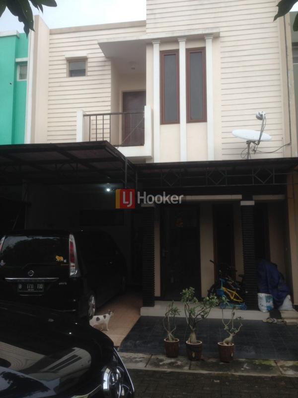 Dijual rumah cluster minimalis bintara residence