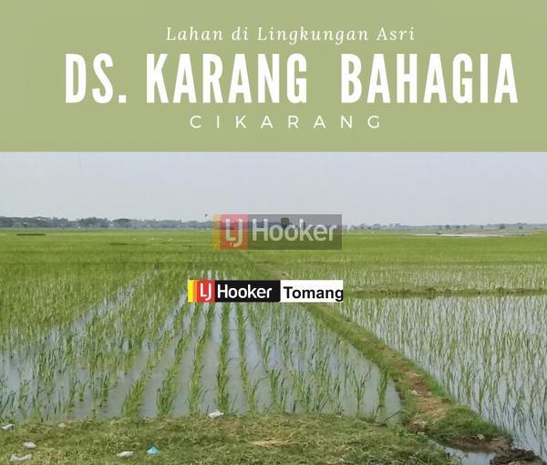 LAHAN Lokasi Bagus Zonasi Perumahan daerah Cikarang, Bekasi