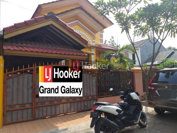 Dijual Rumah Hoek Terawat Strategis Galaxy dekat pintu Tol Bekasi