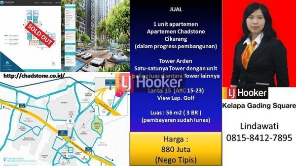 Apartemen Chadstone Cikarang, Jawa Barat