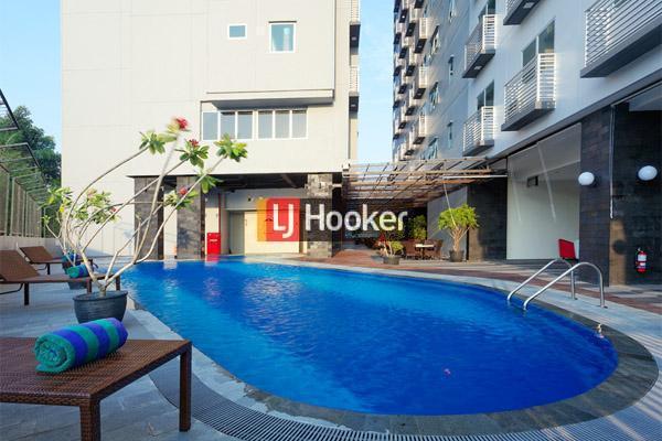 Apartment 2 BR Corner Dengan View Kota Di Nagoya Mansion.