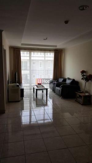 Apartemen di Evian Garden French Walk View Lepas Lantai Tinggi Mantap