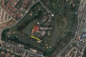 Kavling Luas Golf View Di Taman Golf Residence