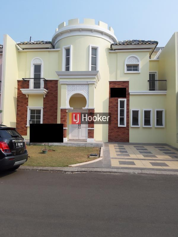 Rumah Dijual Di Cluster Alicante Paramount Serpong Tangerang