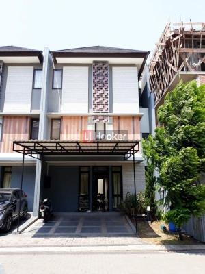 Sewa Rumah Cluster Regent Town  5 kamar, BSD City