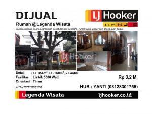 Dijual Rumah Semi Furnished @Legenda Wisata - Cibubur