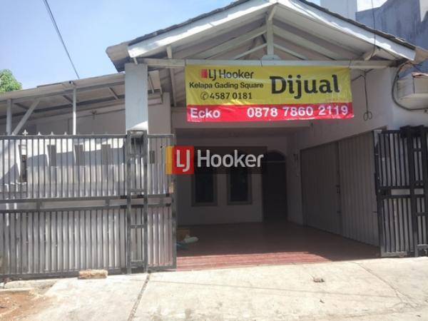 Rumah hook bisa untuk usaha di Sunter, Jakarta Utara