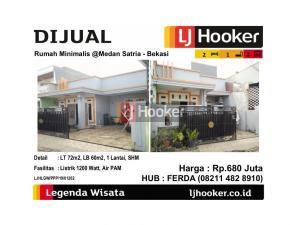 Dijual Rumah Minimalis @Medan Satria - Bekasi