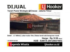 Dijual Tanah Posisi Strategis @Ciracas - Jakarta Timur