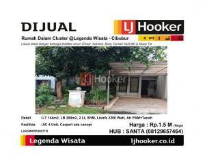 Dijual Rumah Dalam Cluster @Legenda Wisata - Cibubur