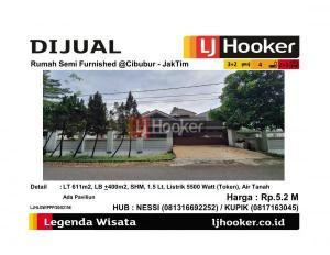 Dijual Rumah Semi Furnished @Cibubur - JakTim