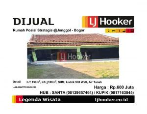 Dijual Rumah Posisi Strategis @Jonggol - Bogor