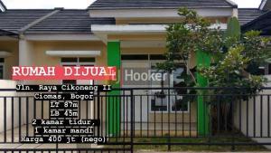 Dijual rumah di jl Raya Cikoneng Ciomas IDR 400JT