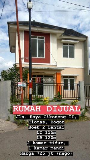 Dijual rumah di cikoneng Ciomas Bogor IDR 725JT
